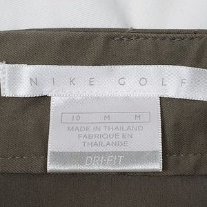 Nike Shorts - Nike Golf | Dri-Fit Brown Athletic Skort